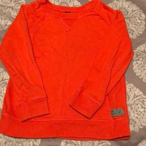 BabyGap orange sweater